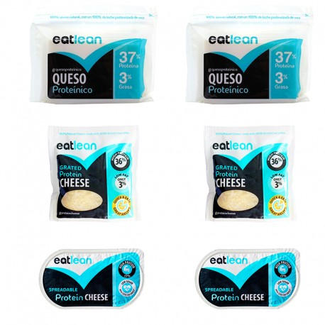 PACK QUESO PROTEINICO EATLEAN